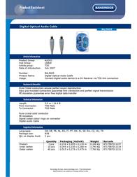 Bandridge BAL5605 Leaflet