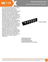 Nexxt Solutions PCGAPLOCM06BK Leaflet