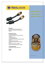 Netlock Cable HDMI 1.3b 5 m 5ALHP-01-5 Leaflet