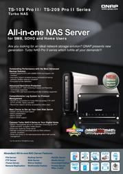 QNAP TS-209 II 540102G0209TS Benutzerhandbuch