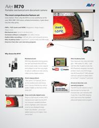 AVer Information M70 VISIONM70 Manual De Usuario