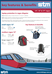"""STM Small Rogue 13"""" DP-0920-1 Leaflet"""