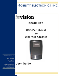 Mobility Electronics INVISION PS6U1UPE User Manual