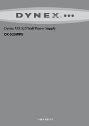 Dynex DX-520WPS User Manual