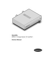 Perreaux SX25i User Manual