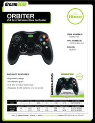 dreamGEAR Orbiter DGXN-756 Leaflet