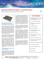 Quatech QSU2-400-EMB Leaflet