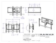 Sanus Systems Vlf210 VLF210-B1 Leaflet