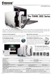 "Stardom 3.5"" SATA Enclosure I302-1S-SB2 Leaflet"