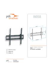 Poli Bracket W058 Leaflet