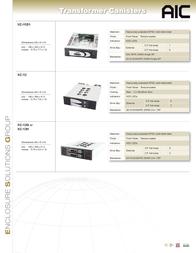 AIC XC-23D1 Leaflet