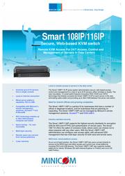 Minicom Advanced Systems Smart 116 IP 0SU70030A Leaflet