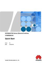 Huawei S2700-26TP-PWR-EI 02352336 Quick Setup Guide
