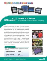 DT Research DT390 390L-271 Dépliant
