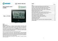 Oregon Scientific BAR800 BAR800-B Data Sheet