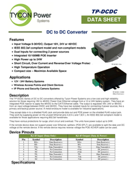 Tycon Systems TP-DCDC-1248-M Data Sheet
