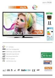 MyTV TFL50 Leaflet