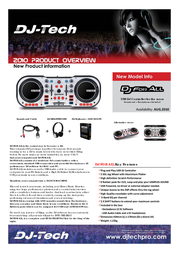 DJ-Tech Pro DJ For All DJFORALL Leaflet