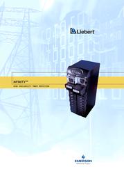 Emerson NFINITY POWER MODULE NPWRMODD1X1 User Manual