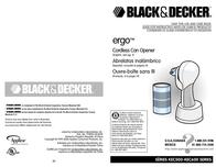 Applica KEC600 Opener KEC600 Manual