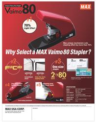 Max Vaimo80 HD-11UFL Leaflet