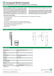 Greenteq 4005016500 Data Sheet