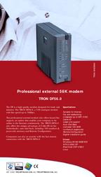 Allied Telesis Tron DF56.0 TRO-DFTNL560-CNL Leaflet