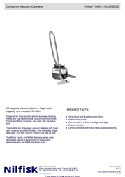 Nilfisk CDF 2000 905 9301 010 User Manual