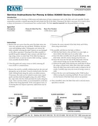 Rane Music Mixer X3000 Leaflet