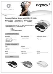 Approx APPOM2BG Leaflet