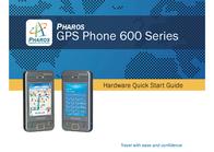 Pharos gps 600 Quick Setup Guide