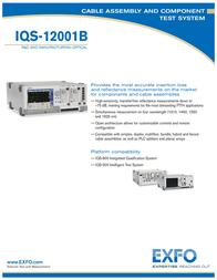 EXFO Photonic Solutions Div. IQS-12001B Manual De Usuario