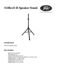Peavey Electronics Triflex II 03011200 Leaflet