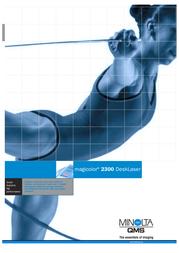 Konica Minolta MAGICOLOR 2300 DL 16 4PPM 5250208-200-PO User Manual