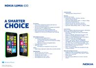 TIM Nokia Lumia 630 767178 Leaflet