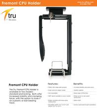 Tru-Office Solutions Locking CPU Holder TRU-D61 Leaflet