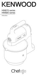 Kenwood Home Appliance Hand-held mixer Kenwood 350 W White 0WHM680002 Data Sheet