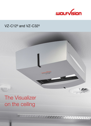 WolfVision VZ-C12³ 102005 User Manual