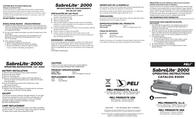 Peli 2000 Super Sabrelite 2000-010-245E Leaflet
