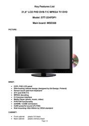Saga STT-224FDP1 User Manual