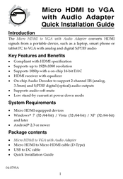 Siig CB-H20C11-S1 User Manual