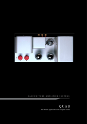 Quad Vaccume Tube Amplifier Systems User Manual