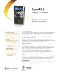 3Dconnexion SpacePilot USB 3DX-700010 Leaflet
