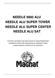 Magnat Needle Alu Sat 158946 Data Sheet