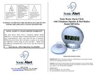 Sonic Alert SONIC BOOM SBT425SS Leaflet
