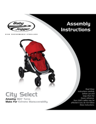 Baby Jogger CITY SELECT Assembly Instruction
