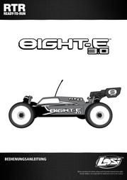Losi Brushless 1:8 RC model car Electric Buggy LOS04003 User Manual