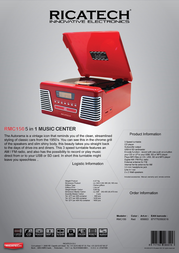 Ricatech RMC150 658003 Leaflet