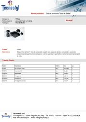 Tecnostyl EDS01 Leaflet