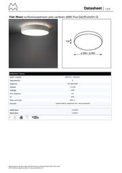 Modular Flat Moon 11836609 Data Sheet